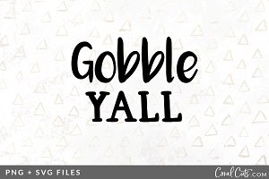 Gobble Yall SVG/PNG Graphic