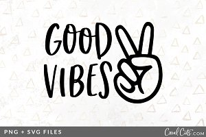 Good Vibes SVG/PNG Graphic