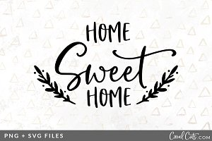 Home Sweet Home SVG/PNG Graphic