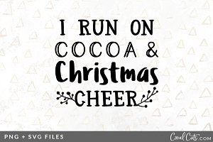 Cocoa & Christmas SVG/PNG Graphic