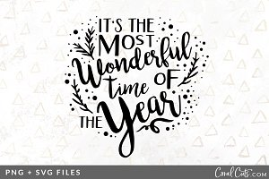 Most Wonderful Time SVG/PNG Graphic