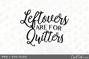 Leftovers Quitters SVG/PNG Graphic