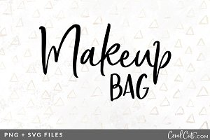 Makeup Bag SVG/PNG Graphic
