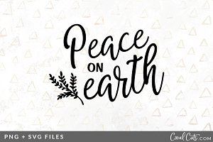 Peace on Earth SVG/PNG Graphic