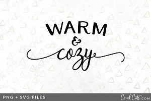 Warm & Cozy SVG/PNG Graphic
