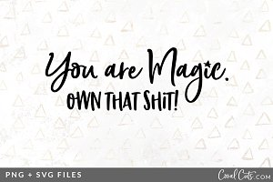 You are Magic SVG/PNG Graphic