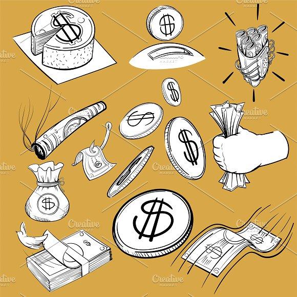 Hand Drawing Illustration Finance