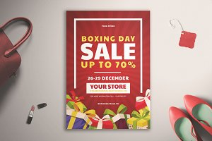 Boxing Day Sale Flyer Vol.01