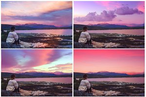 120 Sky and clouds Photo Overlays