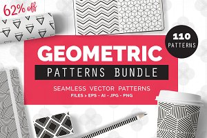 Geometric Patterns BUNDLE - 62%OFF