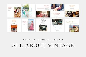 All About Vintage - Social Media