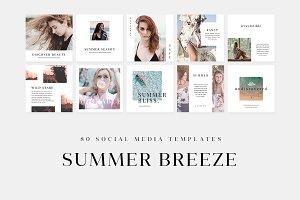 Summer Breeze Social Media Templates