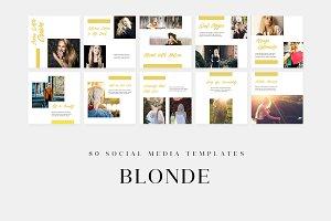 Blonde - Social Media Templates