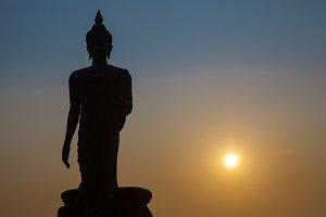 Big Buddha in the evening.