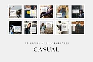 Casual - Social Media Templates