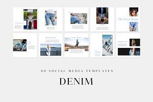 Denim - Social Media Templates