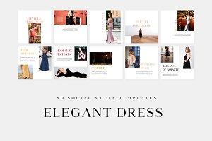 Elegant Dress - Social Media