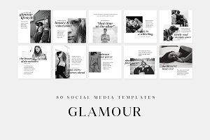 Glamour - Social Media Templates
