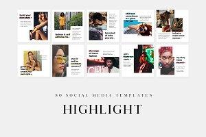 Highlight - Social Media Templates