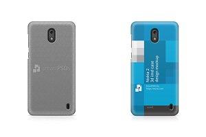Nokia 2 3d IMD Mobile Case Mockup