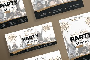 Flyers | New Year Party