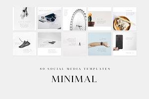 Minimal - Social Media Templates