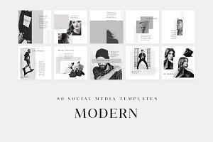 Modern - Social Media Templates