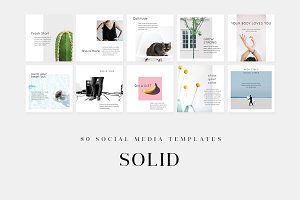 Solid - Social Media Templates