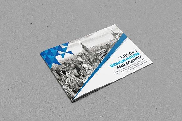 landscape bi fold brochure brochure templates creative market