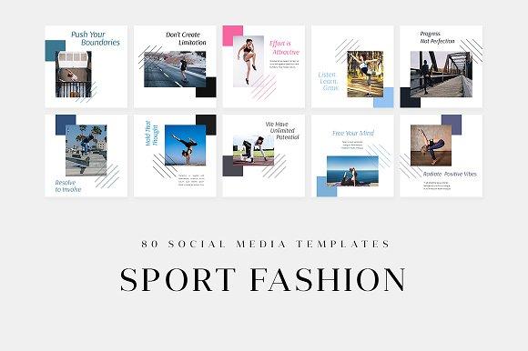 Sport Fashion - Social Media