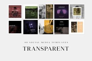 Transparent - Social Media Templates