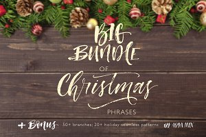 Big bundle of Christmas phrases.