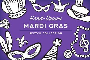 Mardi Gras Sketch Collection