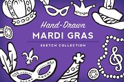 Mardi Gras Sketch Collection