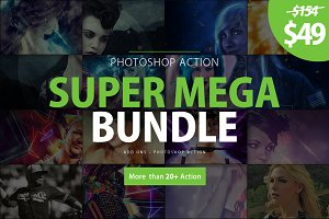 Super Mega Bundle Photoshop Action