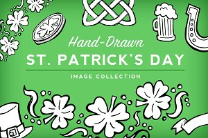 St Patrick's Day Sketch Collection
