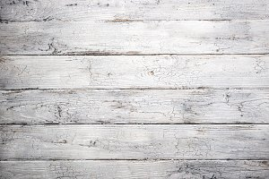 White old wooden background