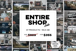 ENTIRE SHOP - 60% OFF