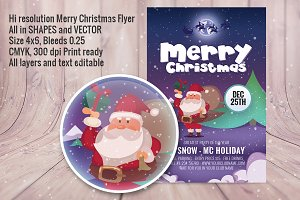 Marry Christmas Flyer