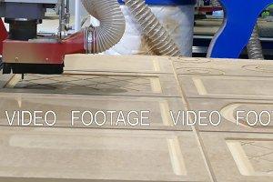 Woodworking in a CNC machine