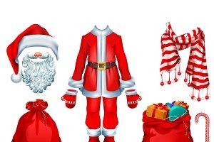 Santa Claus costume dress