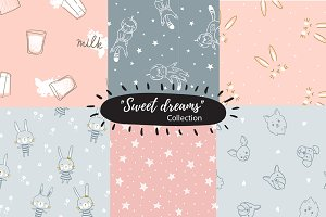Sweet dreams pattern collection