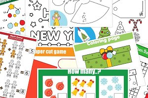Christmas New Year kids activities