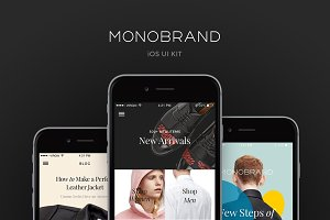 Monobrand iOS UI Kit