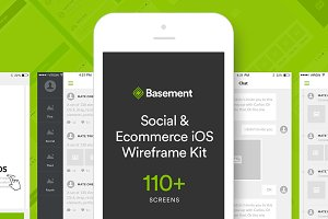 Basement iOS: Social + Ecommerce