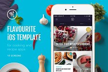 Flavourite iOS Template by  in Apps