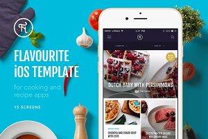 Flavourite iOS Template