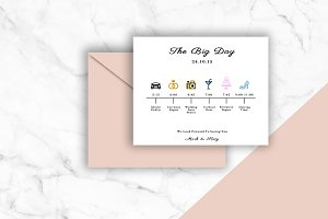 The Big Day | Wedding Invitation