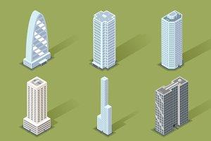 Vector 3D Skyscraper