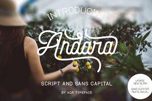 Andara Font ( 30% OFF )